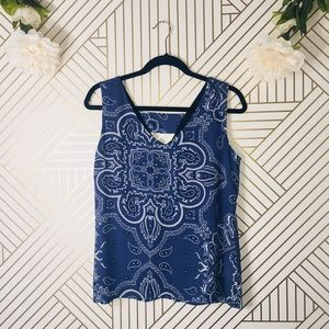 Anthropologie | W5 Paisley Tank